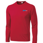 ST350LS - P274EO05Polo - EMB - Long Sleeve Wicking T-Shirt